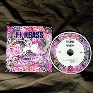 Finkbass' CD Cover and CD Abloom